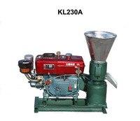 Pellet Press 22HP Diesel Engine KL230A Biomass Pellet Mill Animal Feed Wood Pellet Machine With Electric Start