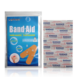 Image 5 - OPHAX 50Pcs Waterproof Band Hemostasis Aid Stickers Adhesive Bandage Wound Dressings Sterile First Aid Bandage Medical Plasters