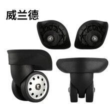 Сменные колеса для багажа, ремонтные колеса для багажа, сменные складные колеса Спиннеры, колеса для чемоданов, ролики для чемоданов