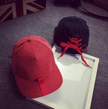 O Envio gratuito de 2016 Pessoal sapato laço CAP chapéu boné de beisebol Chapéus de Sol Para As Mulheres Homens Esporte Ajustável casquette cap osso