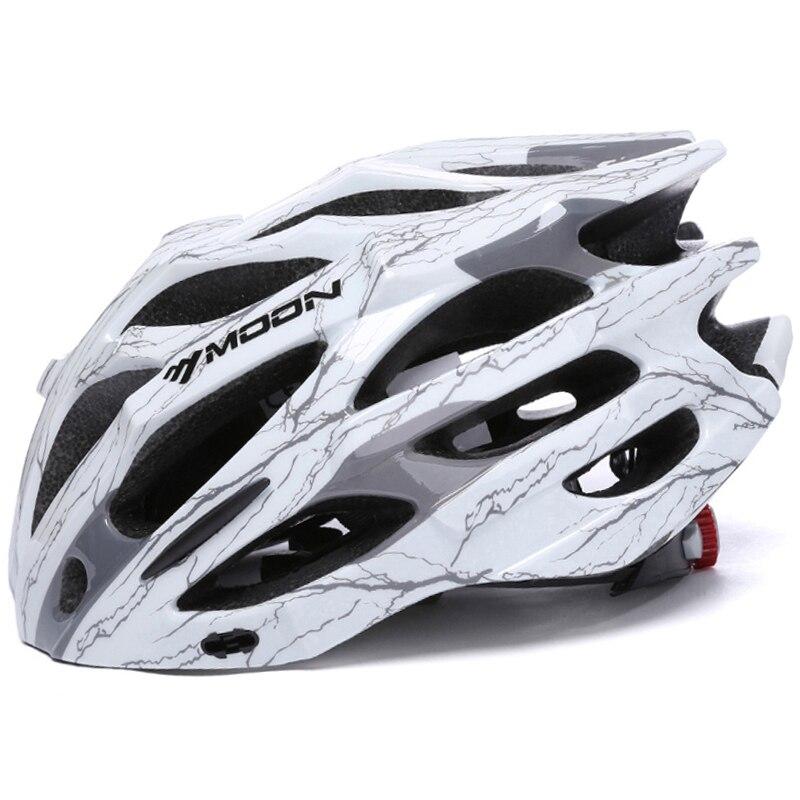 MOON Top Quality Cycling Helmet 27 Air Vents In-mold Ultralight Bicycle Helmet Road Mountain Bike Helmet MTB Helmet
