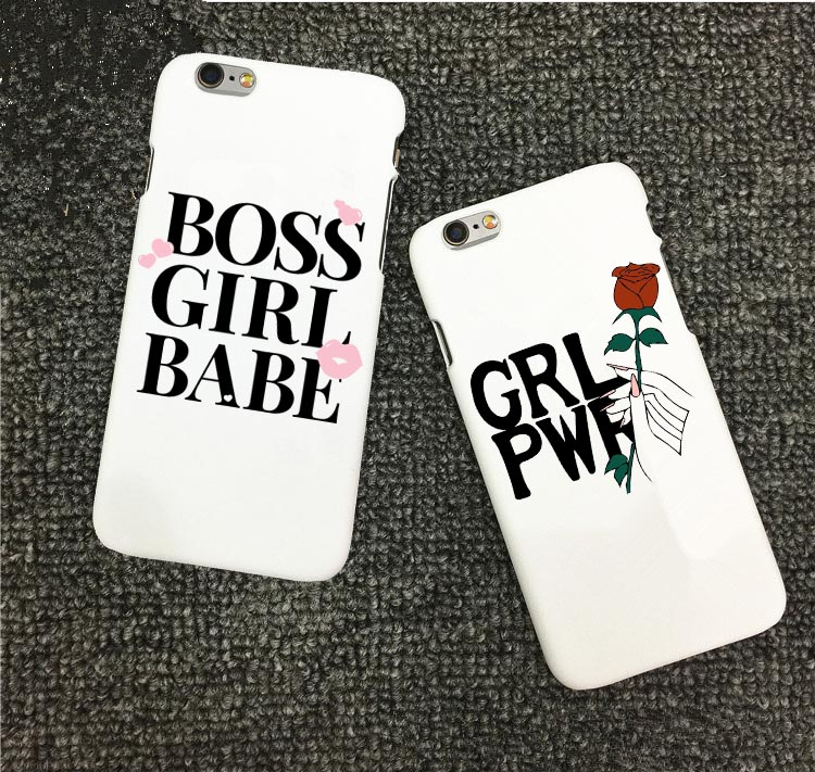 Us 1 21 39 Off Cute Funny Quotes Fashion Girl Boss Baby Hard Pc Phone Case For Apple Iphone 5 5s 6 6s Plus 7 7plus Se X 10 8 8 Plus Bags Cover In