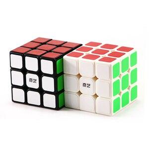 Image 3 - Qiyi Chuyên Nghiệp Cube 3X3X3 5.7 Cm Tốc Độ Cho Antistress Xếp Hình Neo CUBO Magico Miếng Dán Kính Cường Lực Cho Trẻ Em người Lớn Đồ Chơi Giáo Dục
