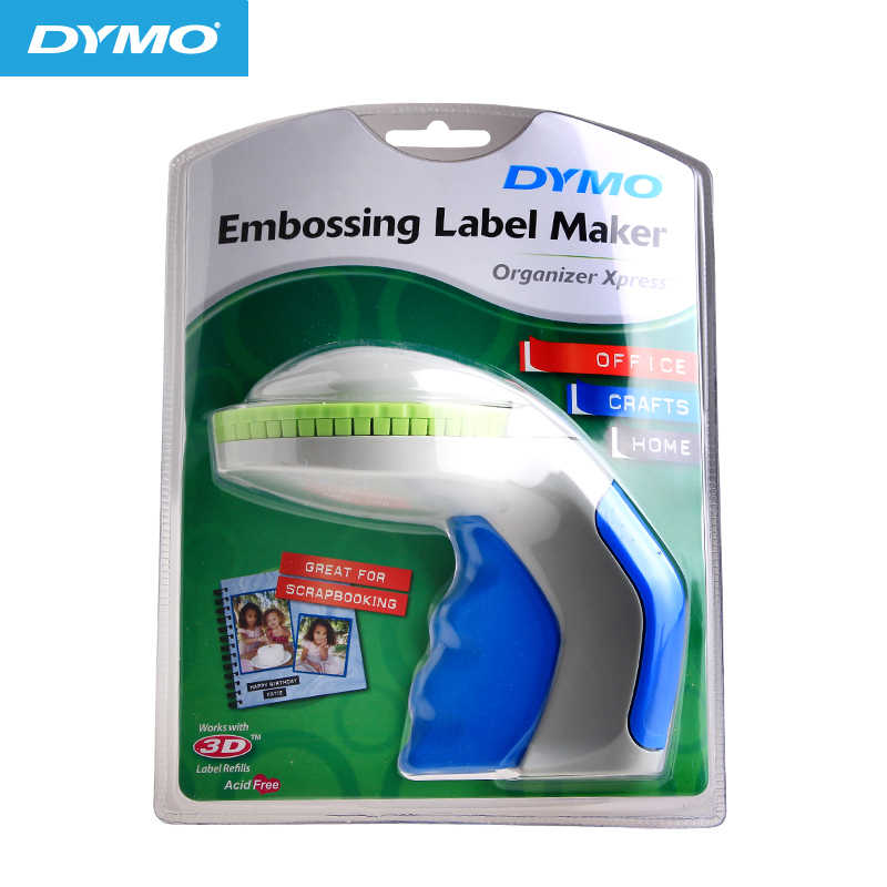 for DYMO label machine 12965 price machine DIY manual price lettering machine concave convex 3D label printer Xpress