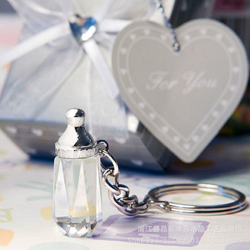 100pcs Free Shipping Baby Christening Gift Mini Crystal