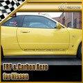 New Side Skirt Extension For Nissan Skyline R34 GTR BNR34 GTR Carbon Fiber Nismo Racing