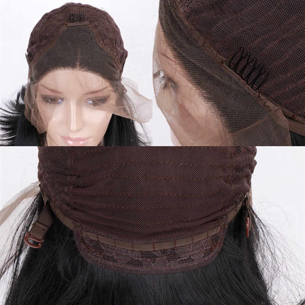 Cinza roxo peruca dianteira do laço para mulheres brancas glueless longo ondulado rosa perucas sintéticas para festa cosplay fibra resistente ao calor