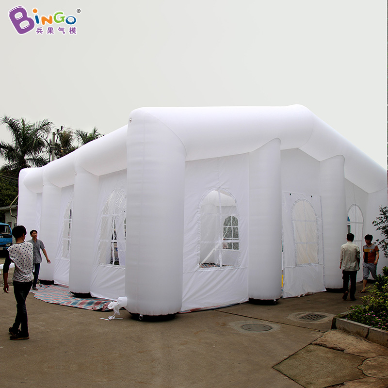 Free Shipping Customized 10X10X5 Meters pure white gaint inflatable tent for wedding event party tent big toy tent 2018 HOT SALE customized hot sale new wholesale factory price inflatable bubble tent for party camping