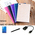 For Lenovo tab2 A7 A7-30 A7-30HC A7-30TC case 7'' Tablet PC dormancy protective Leather Case Protective Shell/Skin