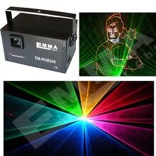 MINI 3000mw rgb laser light 3w full color animation laser light 3d effect 3w rgb laser projector