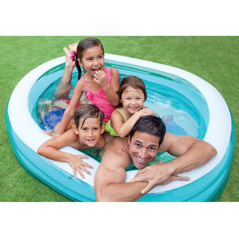 Home Use Large Size Inflatable Square Swimming Water Pool Heat Preservation Children Playground Piscina Bebe Zwembad A198 home use baby inflatable swimming water pool portable outdoor children bathtub piscina bebe zwembad pvc waterproof bath tub