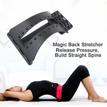 Back Massage Magic Stretcher Fitness equipment Stretch Relax Mate Stretcher Lumbar Support Spine Pain Relief Chiropractic back massage stretcher back waist lumbar stretch massager family sport yoga relaxation fitness massage tool