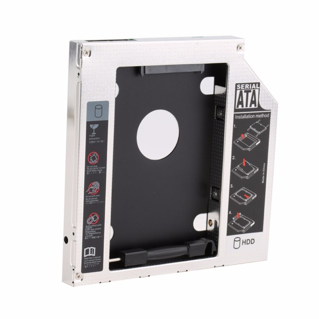 New Hard Drive Caddy Serial ATA Hard Drive Disk HDD SSD Adapter Caddy Tray for PC Laptop Computer Drop Shipping Office & School Supplies