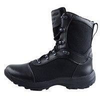 FB Selva Preto dos homens Botas Militares de Combate Do Deserto Tático Botas Militares Tornozelo Sapatos Respirável