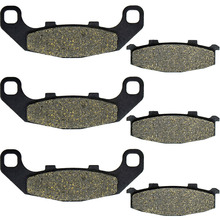 For Kawasaki GPX 250 RII EX 250 G GPX250 EX250 EX250G 1988 ZX-A ZX 400 G ZX400 ZX400G 1988 Motorcycle Brake Pads Front Rear