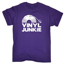 "Kick-ass ""Vinyl Junkie"" men's t-shirt"