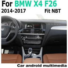 10.25 Android 2G RAM For BMW X4 F26 2014-2017 NBT GPS Touch Screen Multimedia Player Stereo Autoradio navigation original style