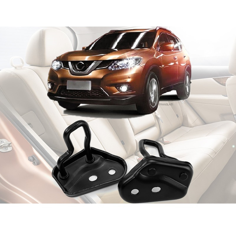 Rear Seat Extend Angle Adjust Buckles Suitable for Nissan X Trail X-Trail Rogue T32 2014 2015 2016 Car Accessories car rear trunk security shield shade cargo cover for nissan x trail xtrail rogue 2014 2015 2016 2017 2018 black beige
