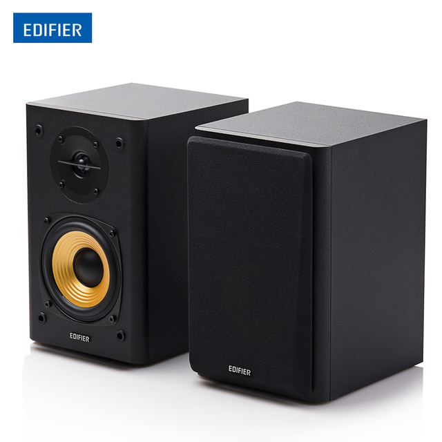 Edifier R1000T4 Ultra Stylish Bookshelf Speaker Uncompromising Sound Home Theatre Speakers With 4 Inch Bass