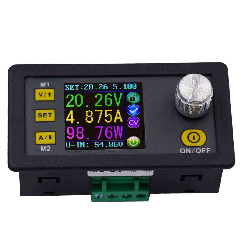 DPS5005 Color LCD voltmeter Constant Voltage current Step-down Programmable control Volt converter Power Supply module buck 10% dps5005 constant current step down programmable power supply module buck voltage converter color lcd display voltmeter 20% off