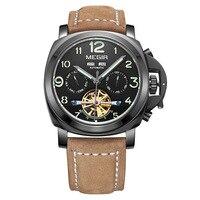 Mechanical watch men's watch explosion models hollow watch hot sale multi function waterproof men's watch