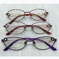 Mulheres bonitas liga frame ótico novo design de moda óculos de alta qualidade óculos óculos (8357)