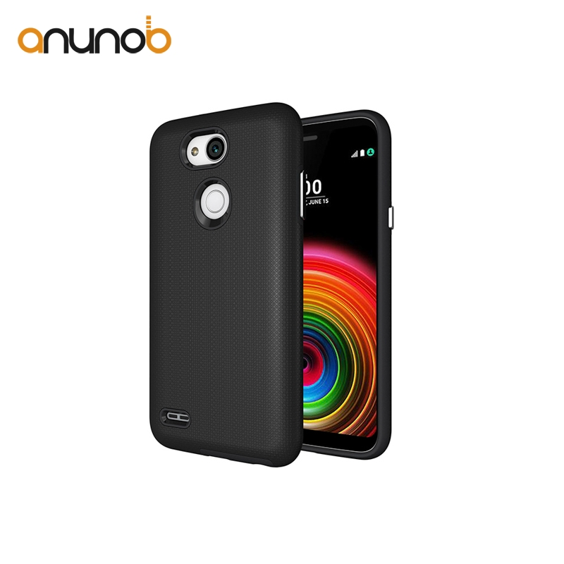 Anunob Case For LG X Power 3 Cases Grained Shockproof Anti