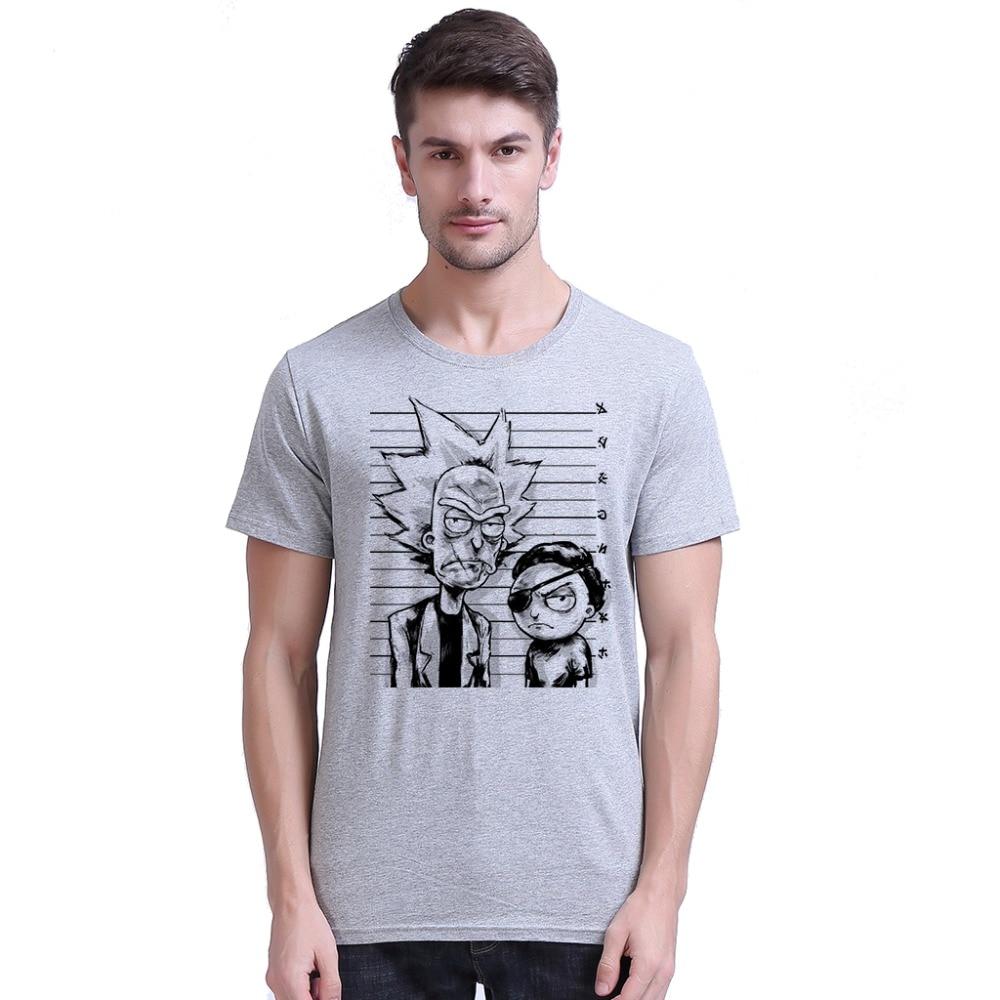 Yo-Young Rick Og Morty Bad Rick Men Premium T-shirts Roligt Design - Herretøj - Foto 5