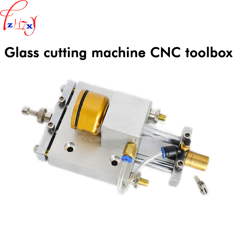 CNC knife box for automatic glass cutter T20-168 CNC double column oil glass cutting machine knife box 1pc lee pushed the knife glass giant hexagonal glass cylinder push knife