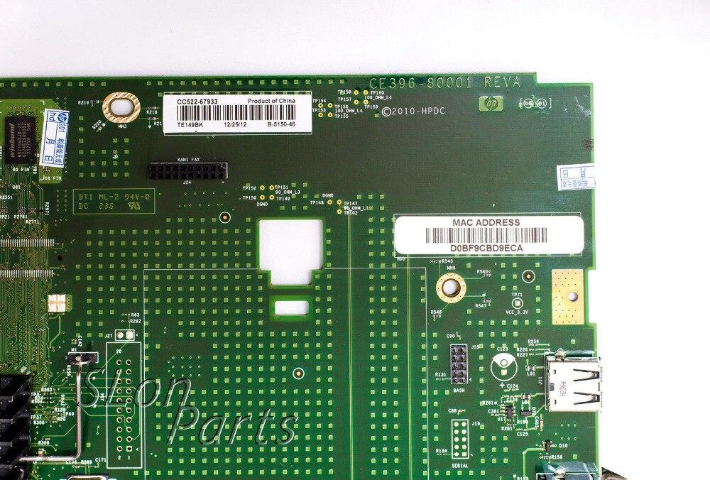 1pcs CE396-60001 CC522-67933 Formatter board for HP LaserJet 700 color MFP M775 M775dn formatter pca assy formatter board logic main board mainboard mother board for hp m775 m775dn m775f m775z m775z ce396 60001