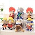 Nueva Llegada 30 cm-40 cm Naruto Kakashi Gaara Naruto Peluches Parker Relleno Peluches Kawaii Juguetes Brithday regalo