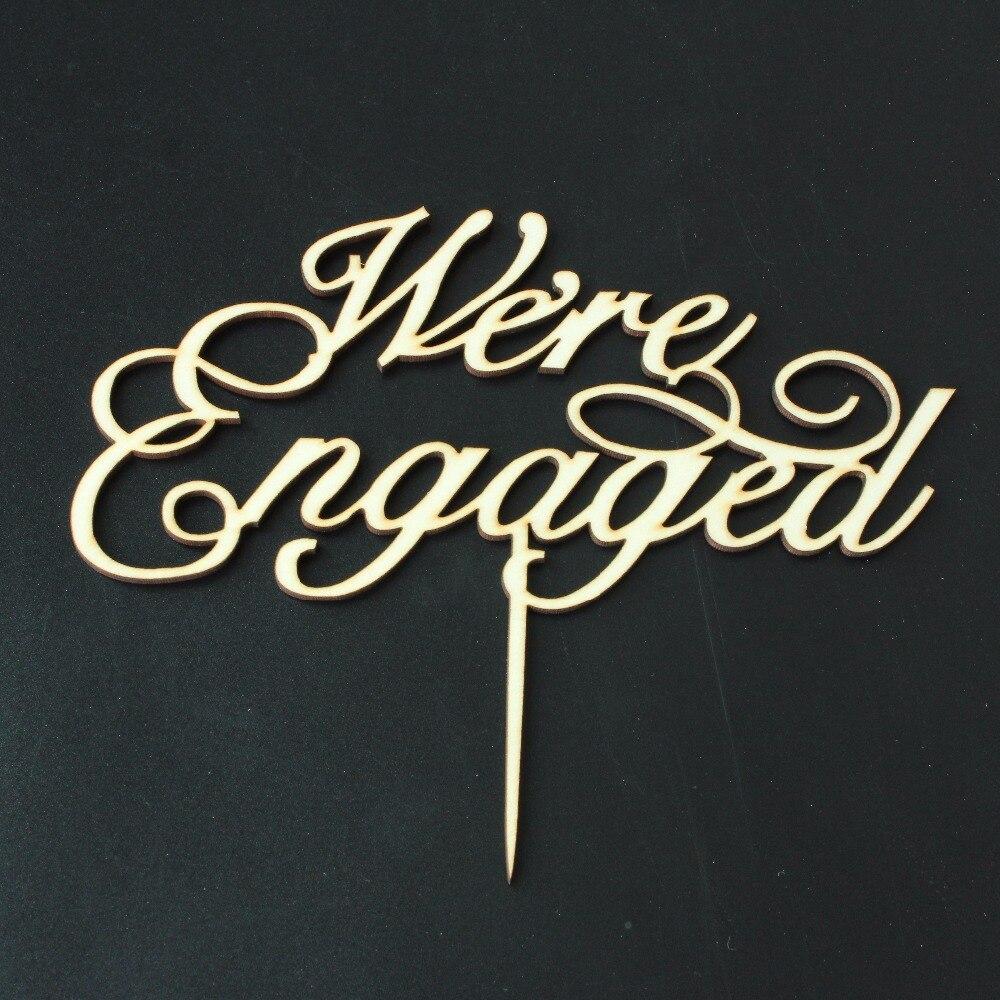 ᗑEstamos comprometidos torta escritura Pastel de Bodas compromiso ...