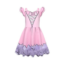 Hot Cosplay Costume Baby Girl Christmas Dress Little Kids Clothes Cartoon Style Clothing Toddler Princess 3-10Y