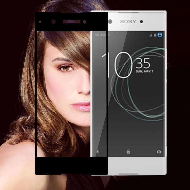 Full Cover Tempered Glass For Sony XA1 Screen Protector Glass For Sony <font><b>Xperia</b></font> XA1 / Dual G3112 5.0&#8243; Toughened Protective Film