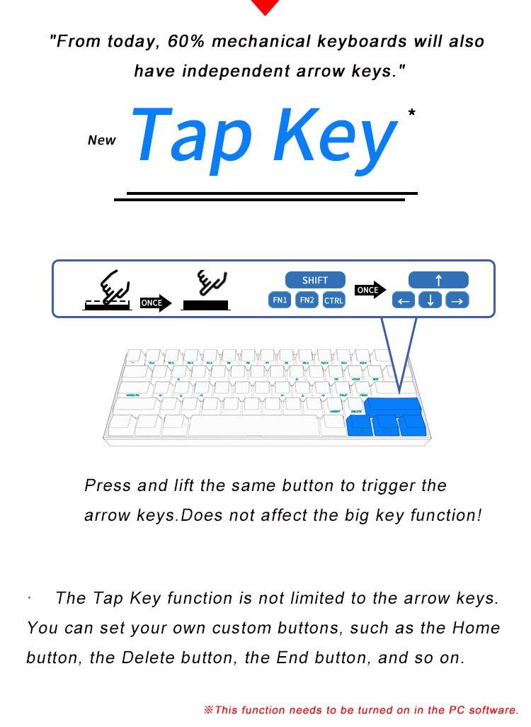 3-Tap-Key-