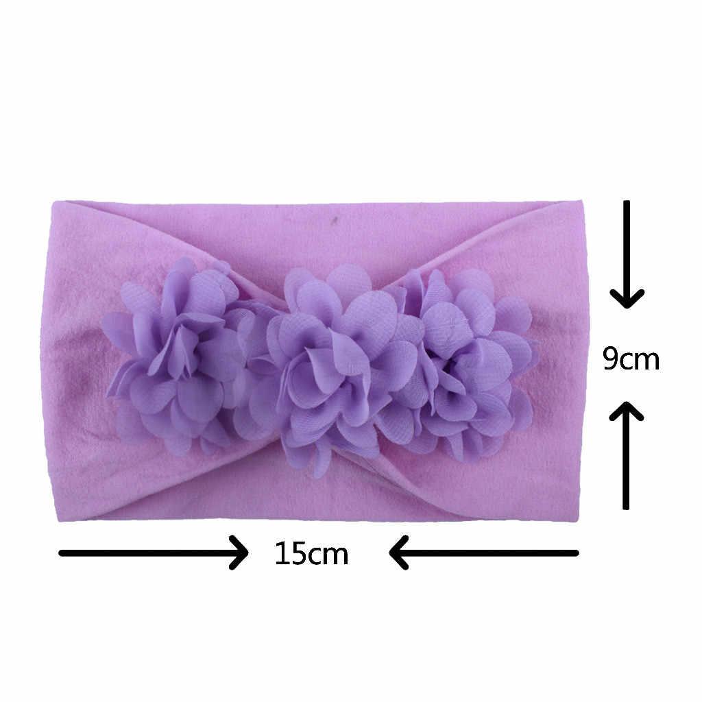 MUQGEW детские повязки на голову для девочек для малышей Детские украшения для волос для девочек тюрбан Твердые головные уборы лента для волос, бабочка аксессуары для девочек