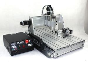 Image 2 - 【EU free VAT】 4 Axis 6040 USB port 2.2KW 2200W USB Mach3 CNC Router Engraver Engraving Milling Citting Machine 220VAC