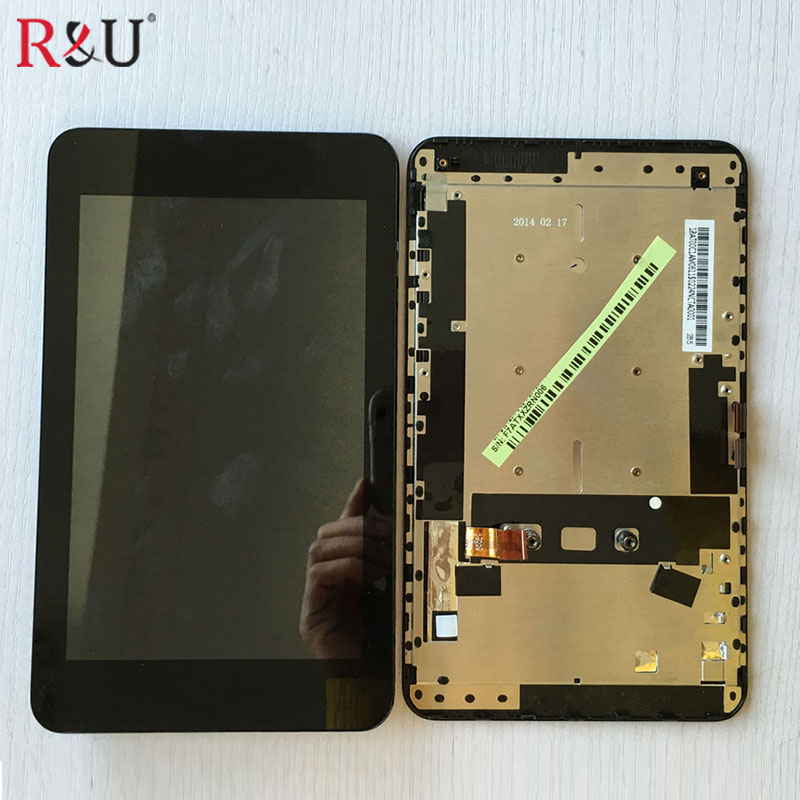 Used parts lcd screen display with touch screen panel digitizer assembly Dock Tablet PCreplacement For ASUS Padfone mini A11 new case for asus padfone mini a11 lcd display touch screen panel digitizer with frame free shipping