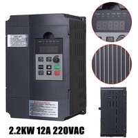 Single Phase Variable 2 2KW 3HP Frequency Inverter Drive Inverter VSD VFD Universal Motor Speed PWM