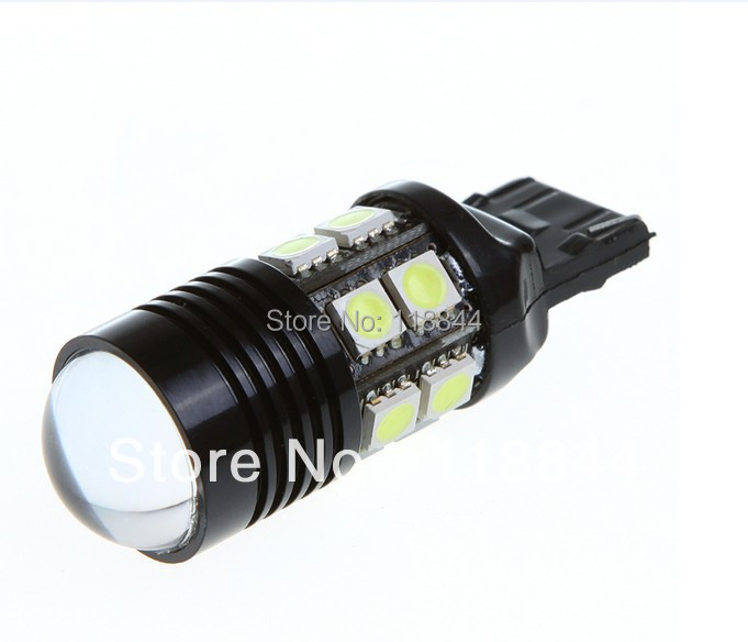 Update 10W Super Bright Canbus CREE R5 LED Backup Light T20 7440 (W21W) 360 lighting Car Lights No error free shipping