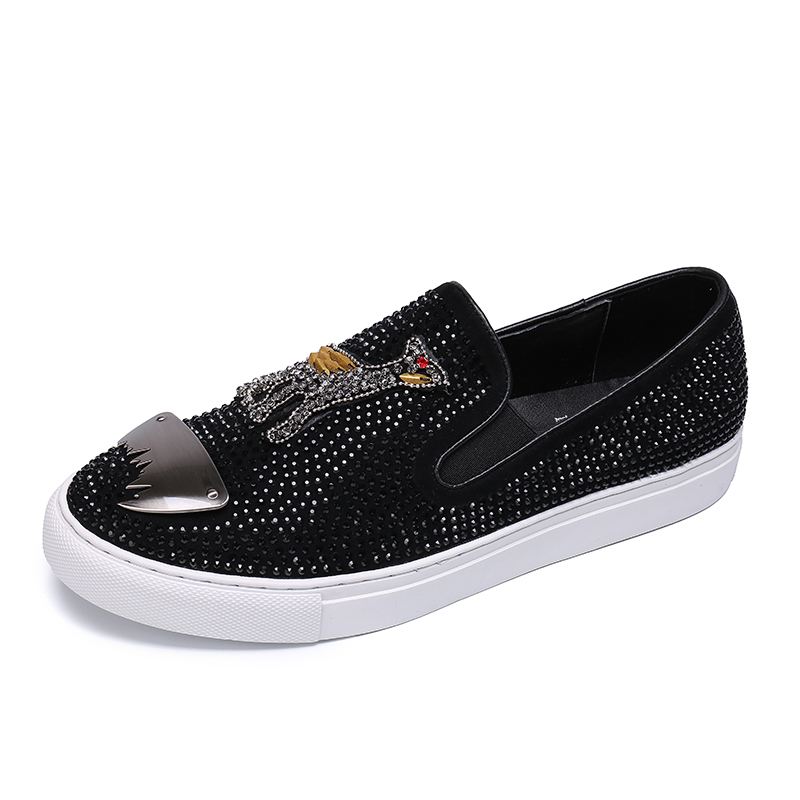 Plus Size 38-46 Designer Man Lace-on luxury Brand Shoes