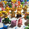 Shippinng libre 24 unids Pokeball Pikachu 2-3 cm Diferente Estilo Mini Figura de Dibujos Animados de Bolsillo Monster Juguetes Órdenes Mezcladas