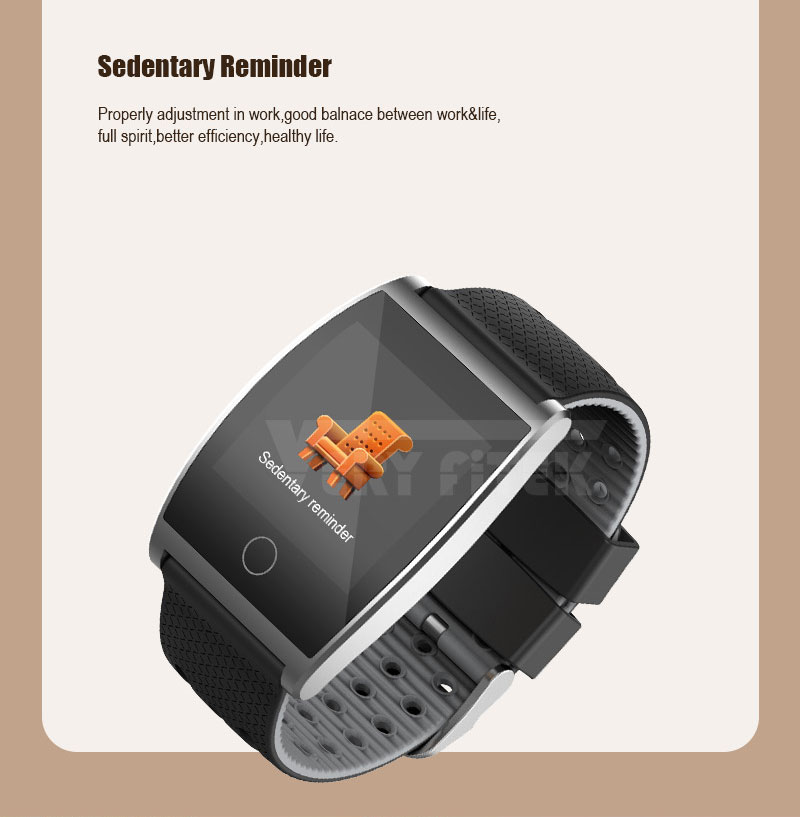 VERYFiTEK QS05 Smart Bracelet Watch Blood Pressure Oxygen Smart Band Heart Rate Monitor Wristband Pedometer Fitness Bracelets  (7)