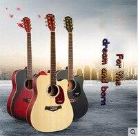 Lyle Spruce Mirage Junior Beginner S Folk Guitar Atmosphere Grade Music Fans 40 41