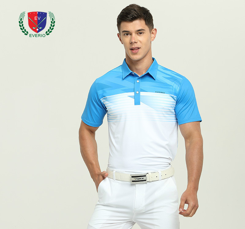 Men Golf T Shirt Splicing Styple Golf Training T Shirt Breathable Bamboo Fiber Sport Tee Quick Dry Golf Polo Shirt Free Shipping
