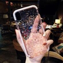 Geometric Diamond Transparent Phone Case iPhone 6 6s Plus 7 7 Plus 8 10 X