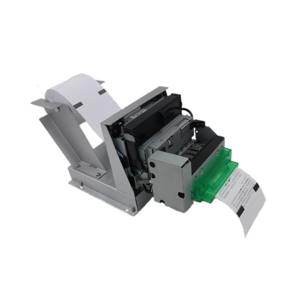 Multiple detection sensor 3inch 76mm 9 pin serial dot matrix kiosk printer with paper mouth Bezel