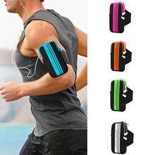 Running tas Voor 5-5.5 inch Mobiele Telefoon Arm Band Hand Holder Case Gym Outdoor Sport Running Pouch Armband tas Voor iphone # p4(China)