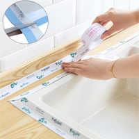 4M Self Adhesive Küche Band wasserdichte PVC bad wand ecke linie waschbecken aufkleber Tabelle ecke wachen Tür fenster dichtung streifen