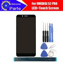 6.0 인치 UMIDIGI S2 PRO LCD 디스플레이 + 터치 스크린 디지타이저 어셈블리 S2 PRO + 도구 용 100% 오리지널 LCD + 터치 디지타이저